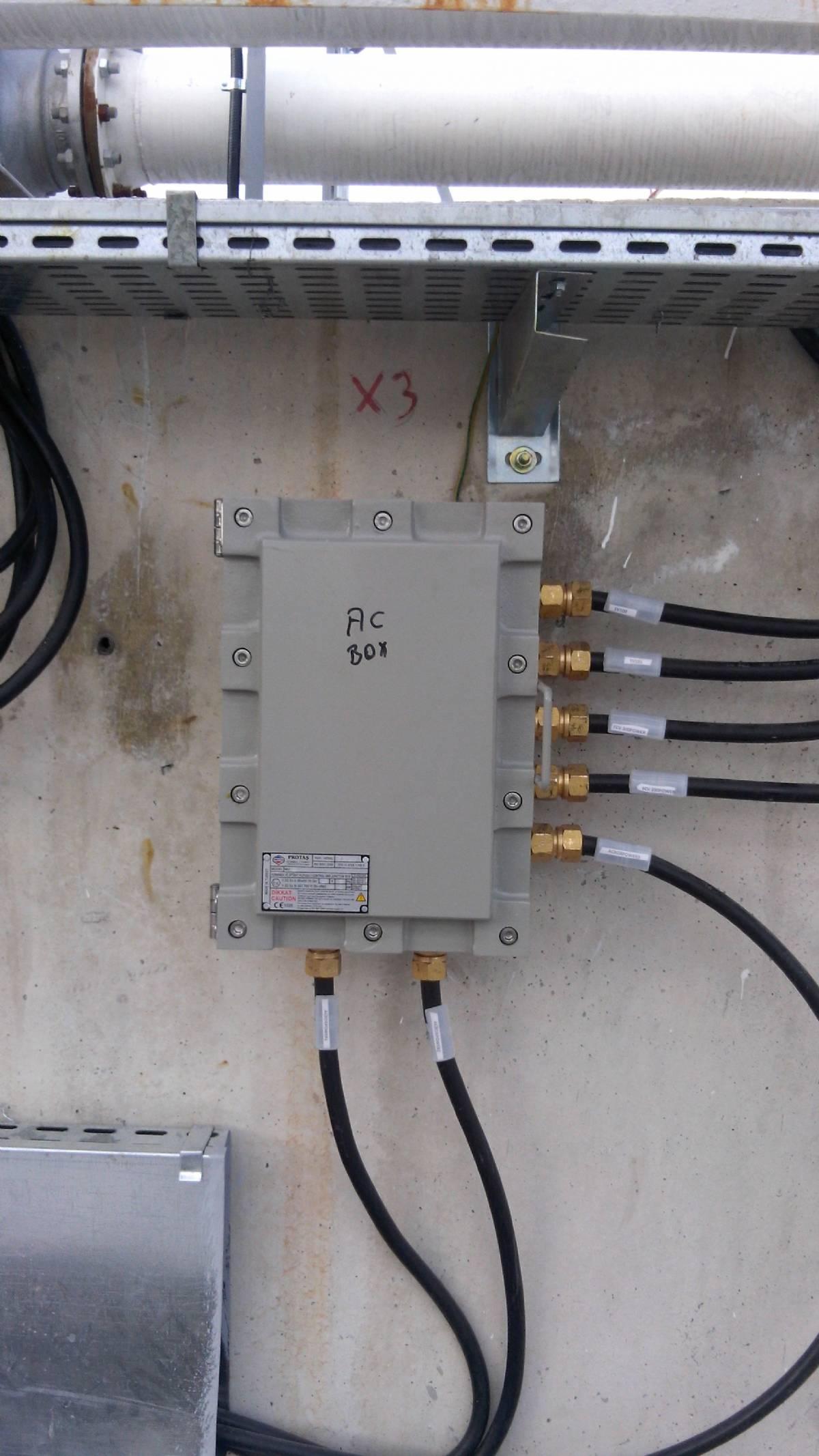 Exproof Elektrik Tesisat Uygulamaları